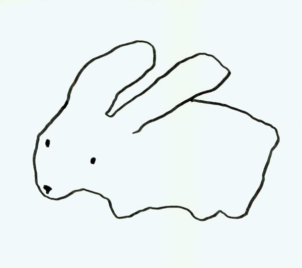 Easy Tombow Rabbits | Carla Sonheim