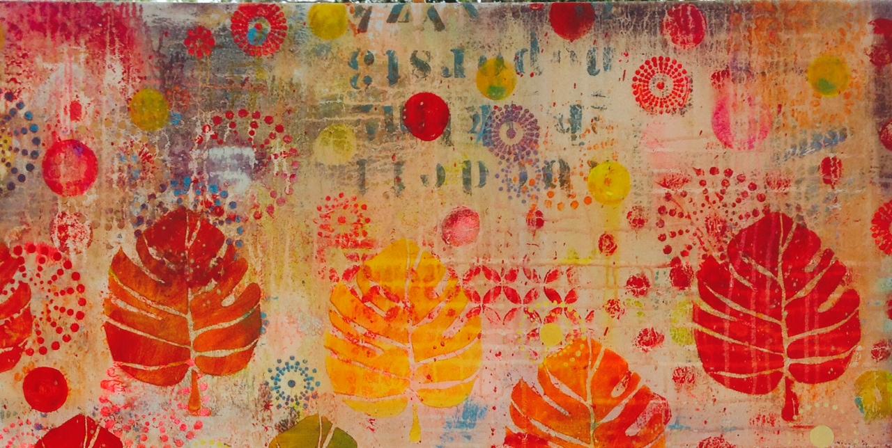 Lynn Whipple S Surface Design Paintings